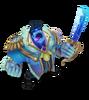 Dr. Mundo Frostprinz (Aquamarin) M