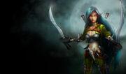 Katarina MercenarySkin old