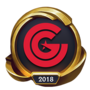 Worlds 2018 Clutch Gaming (Gold) Emote
