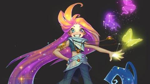 Animacja włosów Zoe (Spojrzenie na bohatera)