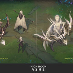 High Noon Ashe Concept 1 (by Riot Artist <a href=