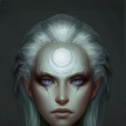 Grafika koncepcyjna twarzy Diany (w wykonaniu Michaela Maurino)
