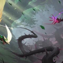 Viridian Kayle and Blackthorn Morgana Update Promo