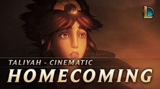 Taliyah Homecoming New Champion Teaser - League of Legends
