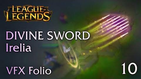 VFX Folio Divine Sword Irelia