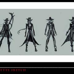 Vayne Concept 1 (by Riot Artist <a href=