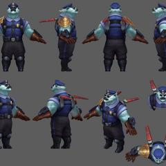 Captain Volibear Update Model