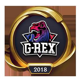 Worlds 2018 G-Rex (Gold) Emote