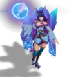 Ahri SpiritBlossom (Aquamarine)