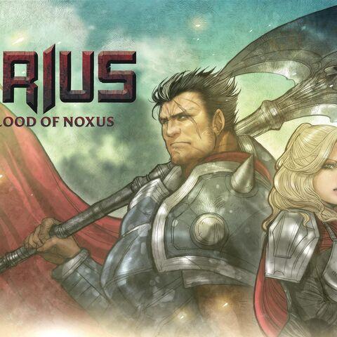 Darius: Blood of Noxus Cover 1