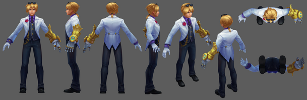 Ezreal Update Charmeur- Model 01