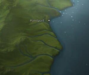 Harelport map