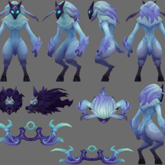 Kindred Model (by Riot Artist <a href=