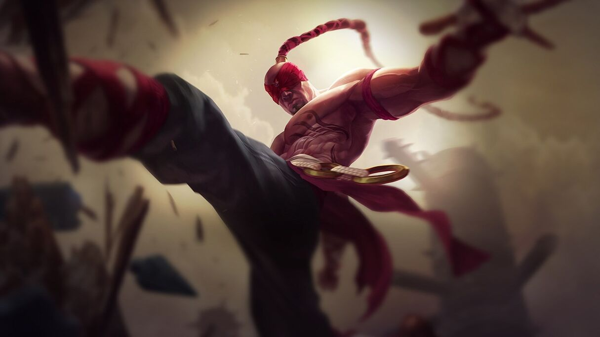 Lee Sin OriginalCentered