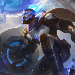 Pulsefire Pantheon Splash Concept (by Riot Contracted Artist <a rel=
