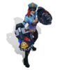 Vi Officer (Aquamarine)