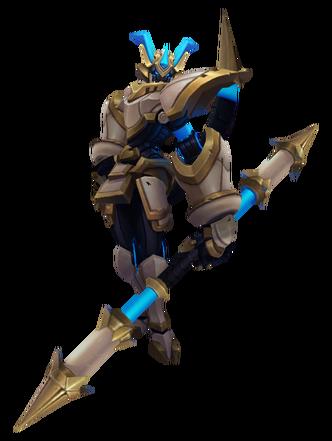 Wukong LancerStratus Render