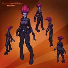 Safecracker Evelynn Model (by Riot Artist <a href=
