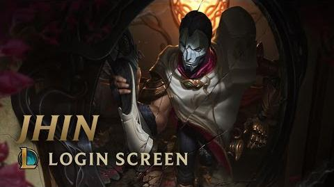 Jhin, the Virtuoso - Login Screen