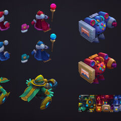 Minion Skin Models (by Riot Artist <a rel=