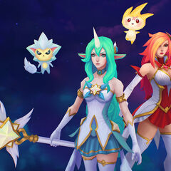 Star Guardian Soraka and Miss Fortune Model 3 (by Riot Artist <a href=