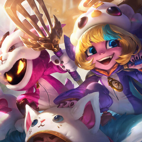 <small>Pengu Cosplay Tristana and Furyhorn Cosplay Veigar</small>