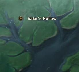 Valar's Hollow map