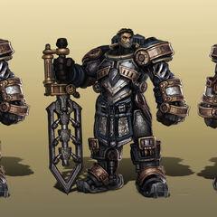 Steel Legion Garen Concept (by Riot Artist <a href=