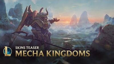 Higher Mecha Kingdoms Skins Teaser - League of Legends