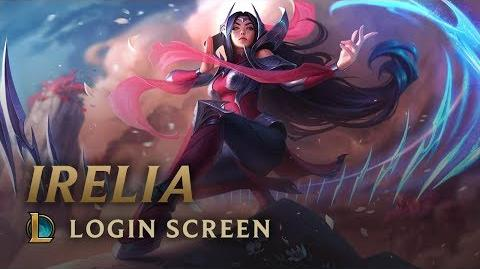 Irelia, the Blade Dancer - Login Screen