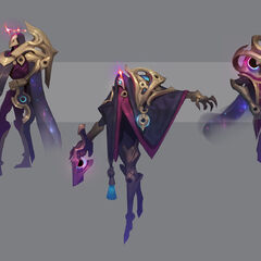 Dark Cosmic Jhin Concept 4 (by Riot Artist <a href=