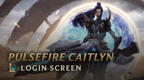 Pulsefire Caitlyn - Login Screen