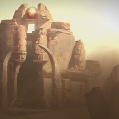 Shurima Temple in the Wastes