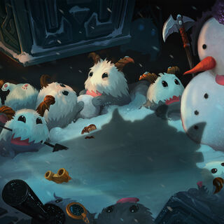 2014 Snowdown Showdown wallpaper featuring a large number of Poros.
