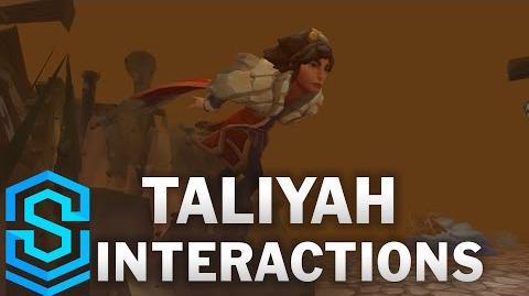 Taliyah Special Interactions