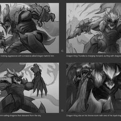Dragonslayer Trundle Splash Concept 1 (by Riot Contracted Artist <a rel=