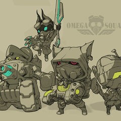 Omega Squad Early Concept (by Riot Artist <a href=