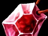 Rubinkristall