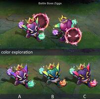 Ziggs Schlachtboss- Konzept 01