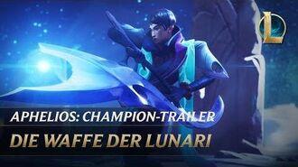 Aphelios Die Waffe der Lunari Champion-Trailer – League of Legends