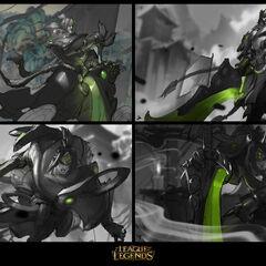 Warring Kingdoms Garen Splash Concept 1 (by Riot Artist <a href=
