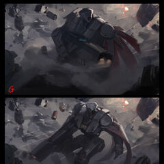 Praetorian Graves Splash Concept 3 (by Riot Artist <a href=