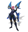 Kai'Sa Raketenjägerin Kai'Sa (Aquamarin) M