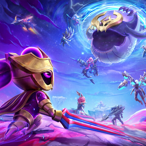 Teamfight Tactics: Galaxies Promo (by Riot Artist <a href=
