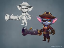 Tristana Update Seeräuber- model 01