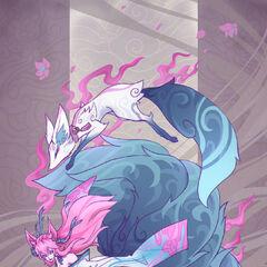 Spirit Blossom Ahri and Teemo