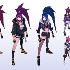 K/DA Akali Concept 1 (by Riot Artist <a href=