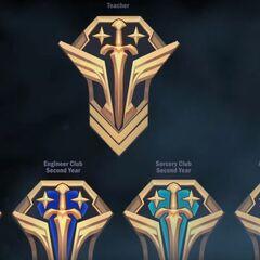 Battle Academia Crest Concept 2