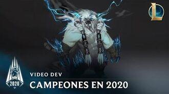Campeones de la temporada 2020 Video dev - League of Legends