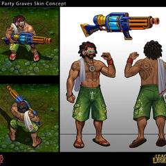 Pool Party Graves Concept (by Riot Artist <a href=